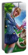 Fionna And Cake Portable Battery Charger