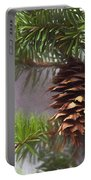 Fir Cone Digital Painting Portable Battery Charger
