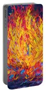 Fire And Passion - Here's To New Beginnings Portable Battery Charger