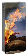 Fire And Smoke Portable Battery Charger