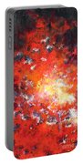Fire Blazing In The Sky Portable Battery Charger