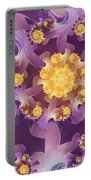 Fire Blossom Portable Battery Charger