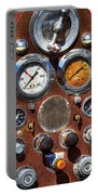 Fire Engine Gauges Portable Battery Charger