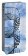 Fire Escape Portable Battery Charger by Antony McAulay