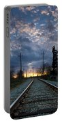 Fire On The Horizon Portable Battery Charger