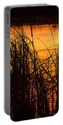 Fire On The Marsh Portable Battery Charger