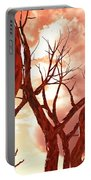 Fire Trees Portable Battery Charger