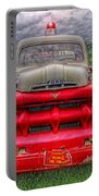 Fire Truck Portable Battery Charger