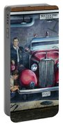 Firehall Mural Sultan Washington 1 Portable Battery Charger