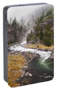 Firehole Canyon - Yellowstone Portable Battery Charger