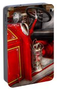 Fireman - Fire Engine No 3 Portable Battery Charger