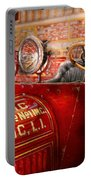 Fireman - Mastic Chemical Co Portable Battery Charger by Mike Savad