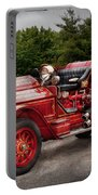 Fireman - Phoenix No2 Stroudsburg Pa 1923  Portable Battery Charger by Mike Savad