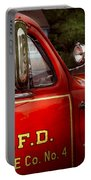Fireman - This Is My Truck Portable Battery Charger