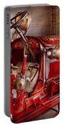 Fireman - Truck - Waiting For A Call Portable Battery Charger