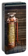 Fireman - Vintage Fire Extinguisher Portable Battery Charger