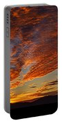 Firery Desert Skies  Portable Battery Charger