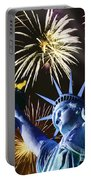 Fires Of Liberty Portable Battery Charger
