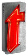 Firestone Building Red Neon T Portable Battery Charger