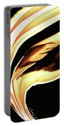 Firewater 2 - Buy Orange Fire Art Prints Portable Battery Charger