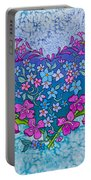 Fireweed Heart Portable Battery Charger