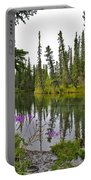 Fireweed On The Clearwater Portable Battery Charger
