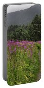 Fireweed Path At Fish Creek Portable Battery Charger
