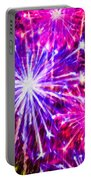 Fireworks At Night 7 Portable Battery Charger