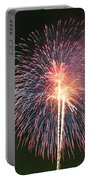 Fireworks At Night 9 Portable Battery Charger