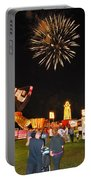 Fireworks At The Carnival Portable Battery Charger