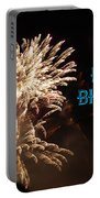 Fireworks Birthday Portable Battery Charger