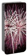 Fireworks Bursts Colors And Shapes 7 Portable Battery Charger