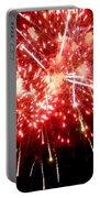 Fireworks Display At Niagara Falls Portable Battery Charger