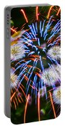 Fireworks Flower Abstract Portable Battery Charger