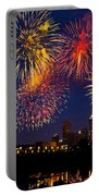 Fireworks In The City Portable Battery Charger