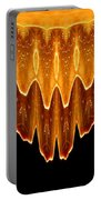 Fireworks Melting Abstract Portable Battery Charger