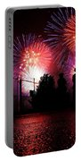 Fireworks Portable Battery Charger by Nishanth Gopinathan