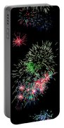 Fireworks Over The Bay Portable Battery Charger