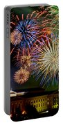 Fireworks Over The Museum Portable Battery Charger