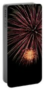 Fireworks Panorama Portable Battery Charger by Bill Cannon