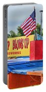 Fireworks Stand Portable Battery Charger