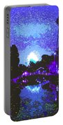 Fireworks Venice California Portable Battery Charger by Jerome Stumphauzer