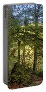 Firs And Ferns Portable Battery Charger