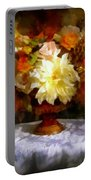 First Day Of Autumn - Still Life Portable Battery Charger