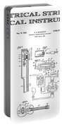 First Electric Guitar Patent Art  1937 Portable Battery Charger