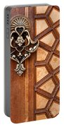 Firuz Aga Mosque Door 04 Portable Battery Charger