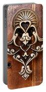 Firuz Aga Mosque Door 05 Portable Battery Charger