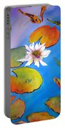 Fish Pond I Portable Battery Charger