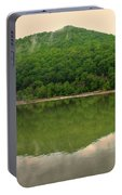 Fish Reflection Where The Kanawha Begins Portable Battery Charger