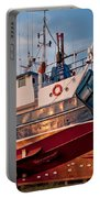 Fish Trawler On Land Portable Battery Charger